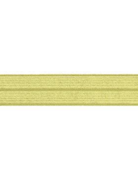 1m Falzgummi Faltgummi Einfassgummi 20 mm apfelgrün hellgrün