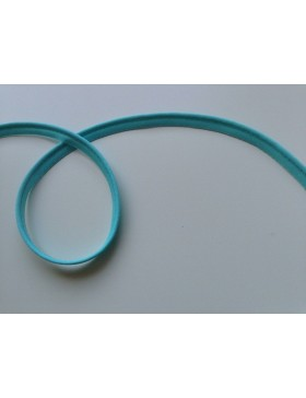 1m elastisches Paspelband türkis10 mm breit