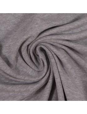 Sweatstoff Sweat melange meliert hellgrau grau 1183 Eike