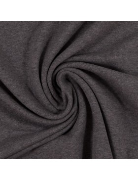 Sweat Eike melange meliert dunkelgrau grau 1285