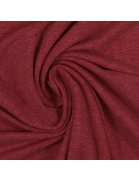 Sweat Eike melange meliert burgundy rot 1338