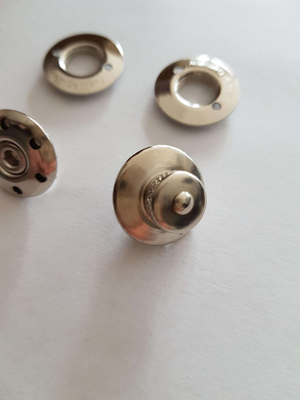 1 LOXX Taschenverschluss silber inkl. Werkzeug