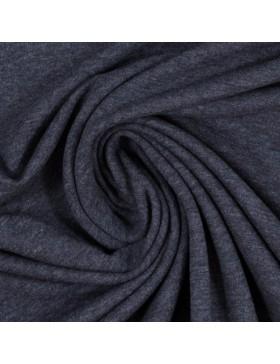 Sweatstoff Sweat melange meliert dunkelblau marine 1598 Eike