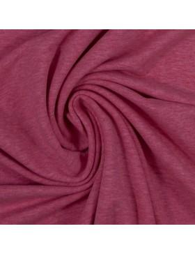 Sweatstoff Sweat melange meliert erika pink 1935 Eike