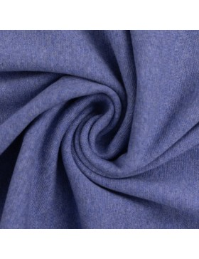Bündchen Heike melange meliert blau 1253