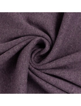 Bündchen Heike melange meliert violett 1648