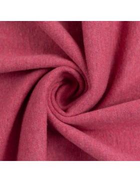 Stoff Bündchen melange meliert erika pink 1935 Heike