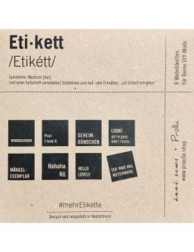 Webetiketten mehrEtikette 1 Edition/natur von Prülla und Ännisews