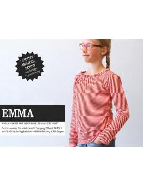 Schnittmuster Emma Schnittreif Kindershirt mit Raglanärmeln