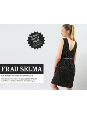 Schnittmuster Frau Selma Schnittreif Sommerkleid