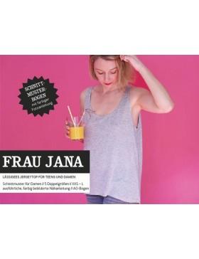 Schnittmuster Frau Jana Schnittreif lässiges Top