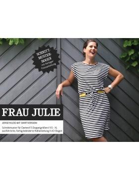 Schnittmuster Frau Julie Schnittreif Kleid und Shirt