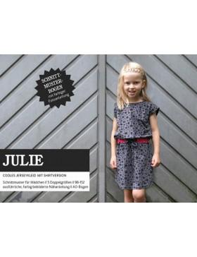 Schnittmuster Julie Schnittreif Jerseykleid