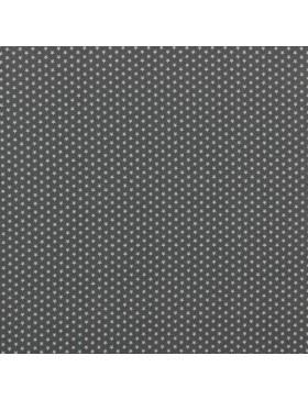 Baumwollstoff Stoff Mini Stars Stern kleine Sterne Sternchen grau
