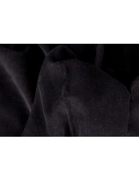Cord schwarz Babycord Feincord Gaby 299