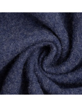 Walk Walkloden dunkelblau blau melange meliert Wolle Naomi