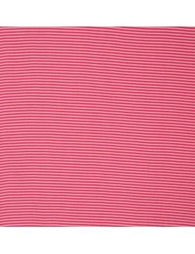 Bündchen rosa pink geringelt Ringel