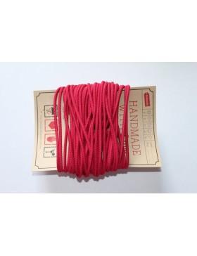 Gummikordel 3mm Gummiband pink