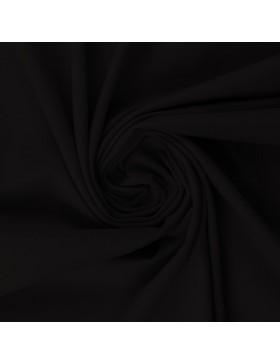 Baumwoll Jersey einfarbig uni schwarz 299 Vanessa