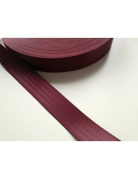 1m Gurtband braun Auto Sicherheitsgurt 38 mm breit