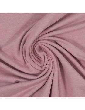 Baumwoll Jersey melange meliert altrosa rosa 1434 Vanessa