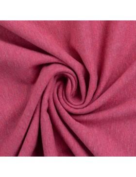Baumwoll Jersey melange meliert erika pink 1935 Vanessa