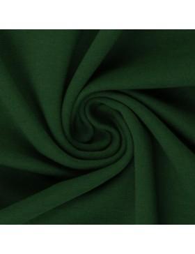 Sweatstoff Sweat dunkelgrün smaragd uni einfarbig 564 Eike