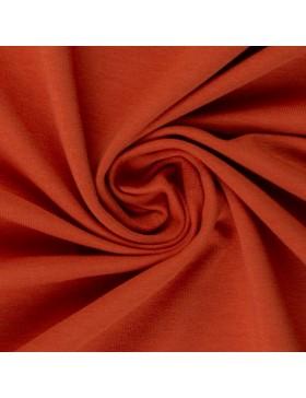 Sweatstoff Sweat terracotta rost rostbraun uni einfarbig 712 Eike