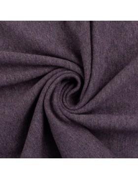 Baumwoll Jersey melange meliert violett 1648 Vanessa