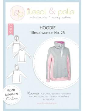Schnittmuster Lillesol & Pelle Hoodie Pullover Nr. 25 Damen