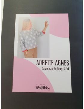 Schnittmuster Adrette Agnes Boxy Shirt Damen Echt Knorke