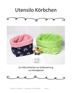"Freebook Utensilo Körbchen ""Nähhimmel"""