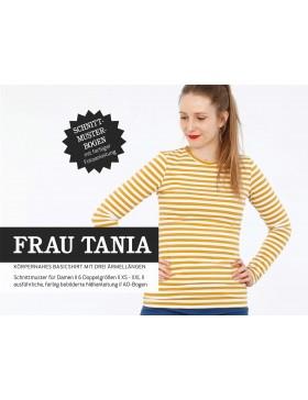 Schnittmuster Frau Tania Schnittreif Basic Shirt 3 Armlängen