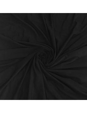 Bambus Jersey schwarz einfarbig