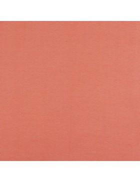 Baumwoll Jersey einfarbig koralle rot GOTS zertifiziert 008