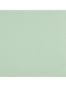 Baumwoll Jersey einfarbig mint mintgrün hell GOTS zertifiziert 015