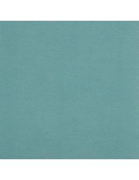 Baumwoll Jersey einfarbig türkis aqua GOTS zertifiziert 017