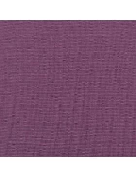 Stoff Bündchen uni einfarbig lila violett aubergine 643 Heike FS21