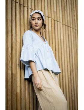 Schnittmuster Rozan Top Bluse Fibre Mood Ebook Damen Gr. XS-XXXL