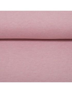 Stoff Bündchen melange meliert altrosa rosa 1434 Heike