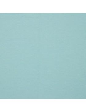 French Terry Sweat einfarbig light blue hellblau GOTS zertifiziert 016
