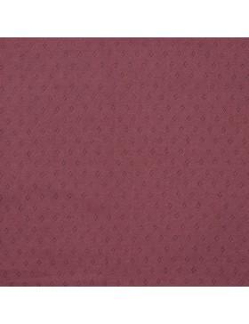 Strick Strickjersey Ajour Lochmuster mauve violett Pointoille