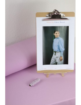 DIY Paket Mabel French Terry light lavendel flieder Pullover mit...