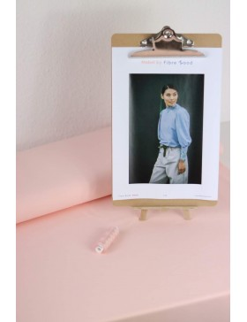 DIY Paket Mabel French Terry light rosa hellrosa Pullover mit...