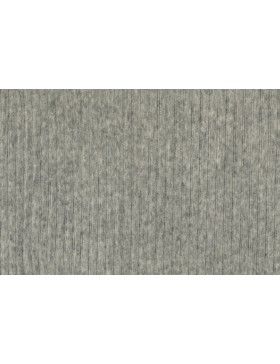 Cord Jersey breit gerippt grau melange meliert uni Breitcord