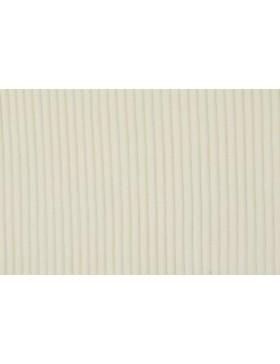 Cord Jersey breit gerippt creme weiß natur uni Breitcord