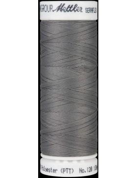 Seraflex Nähgarn hochelastisch mausgrau hell Silver Coin Farbe 0340...