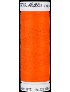 Seraflex Nähgarn hochelastisch Neon Orange Vivid Orange Farbe 1428...