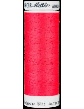 Seraflex Nähgarn hochelastisch Neon Pink Vivid Coral Farbe 8775 von...
