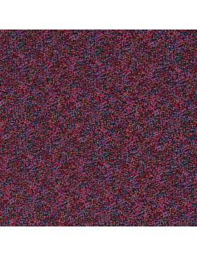 Viskose Webware schwarz rot pink bunt Tupfen Pünktchen Carla